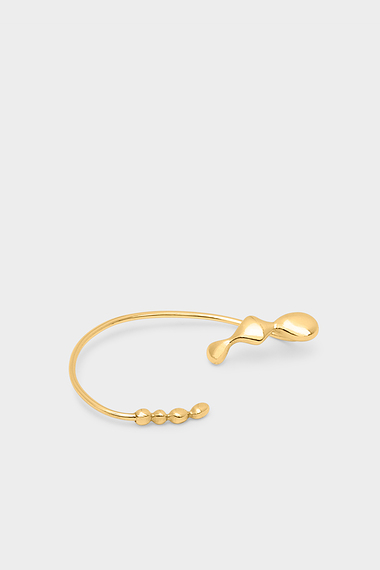 Flux Ear Cuff, 18K Gold Vermeil